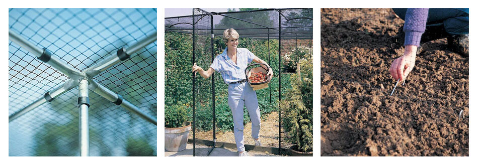 Steel Fruit Cages and Accessories